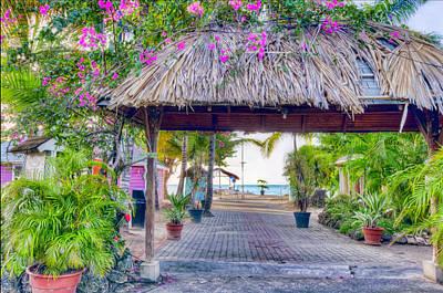 Photograph - Pigeon Point, Tobago 3 by Nadia Sanowar