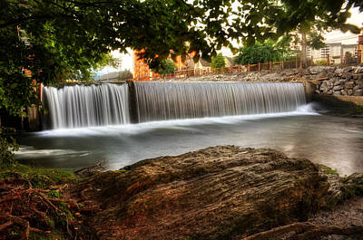 Pigeon River At Old Mill Art Print