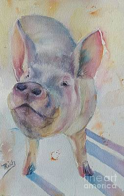 Piggy Original by Patricia Pushaw