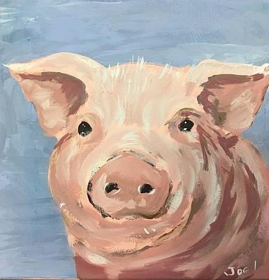 Easterseals Painting - Piglet by Joel P