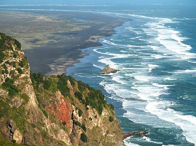 Photograph - Piha by Rachel Mirror
