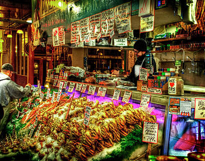 Pike Market Fresh Fish Art Print