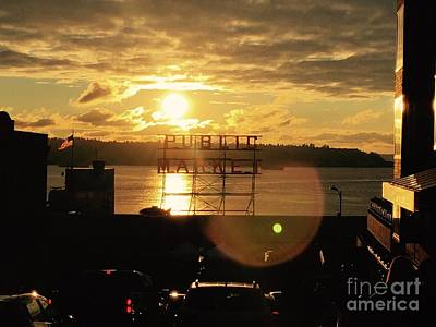 Photograph - Pike Place In Sun by LeLa Becker
