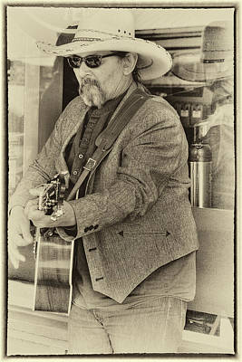 Musicians Royalty Free Images - Pike Place Musician Royalty-Free Image by David Patterson