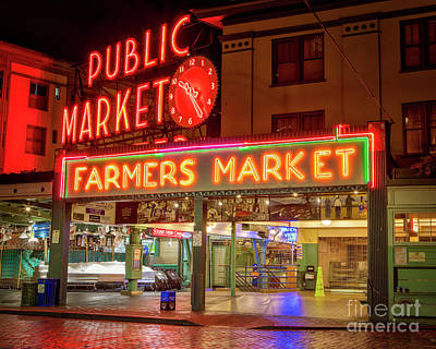 Photograph - Pike Place Public Market by Jerry Fornarotto