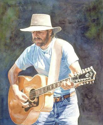 Wall Art - Painting - Pike Street Blues by Nancy Delgado