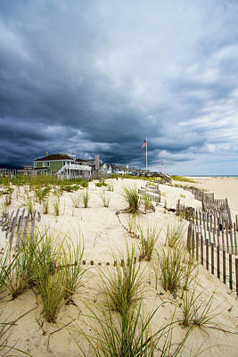 Photograph - Pike's Beach Stormy Sky by Robert Seifert