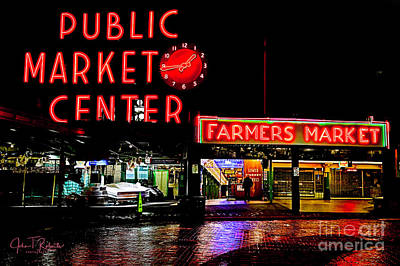 Photograph - Pikes Market Seattle by John Roberts