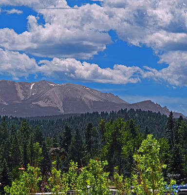 Photograph - Pikes Panoramic Right Segment by T Guy Spencer