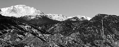Photograph - Pikes Peak And Incline Panorama by Steve Krull