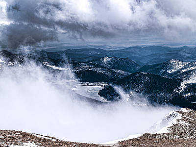 Photograph - Pikes Peak by Anthony Baatz