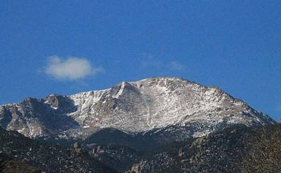Photograph - Pikes Peak by Christopher Kirby