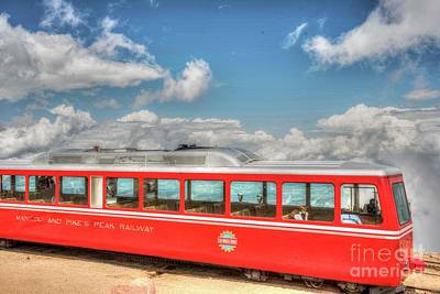 Photograph - Pikes Peak Cog Rail Train by David Bearden