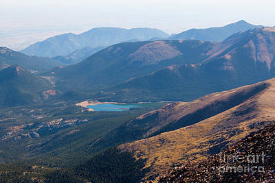 Steven Krull Royalty-Free and Rights-Managed Images - Pikes Peak Colorado Summit by Steven Krull