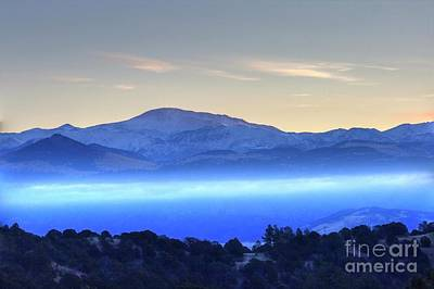 Photograph - Pikes Peak Early Morning by Tony Baca