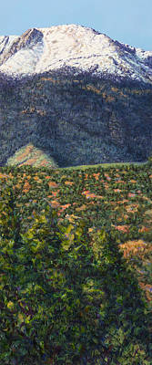 Painting - Pike's Peak In Summer by James W Johnson