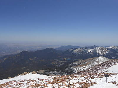 Photograph - Pikes Peak by Julie Grace