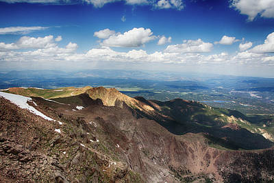 Photograph - Pikes Peak by Nicholas Evans