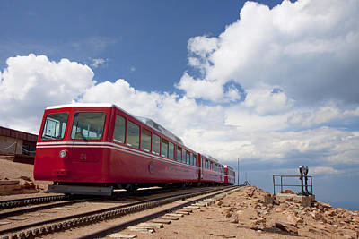 Photograph - Pikes Peak Train by Shari Jardina