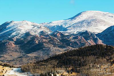 Photograph - Pikes Peak Winter by Steve Krull