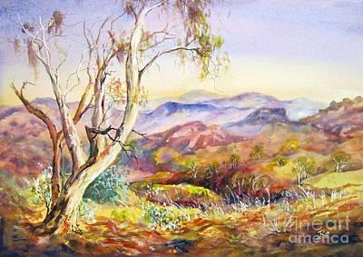 Pilbara, Hamersley Range, Western Australia. Art Print