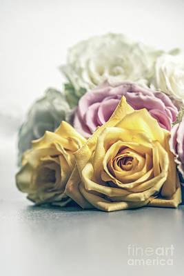 Pile Of Roses Original by Chellie Bock