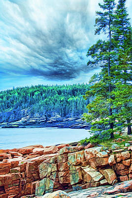 Photograph - Pilgrim's Promise by Mike Braun