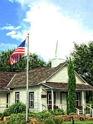 Photograph - Pilgrims Rest Church by Alice Gipson