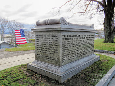 Photograph - Pilgrims Sarcophagus  by Janice Drew