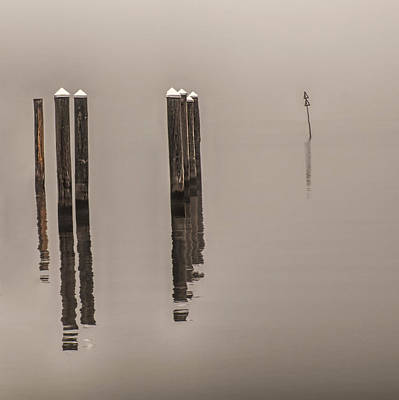 Photograph - Reflections In The Fog by Gary Slawsky