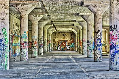 Photograph - Pillar Art by Stewart Helberg
