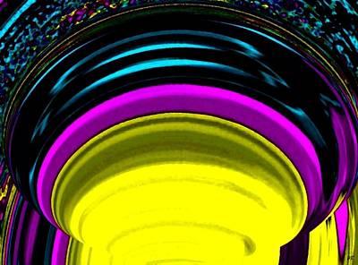 Radiating Light Digital Art - Pillar Of Light by Will Borden