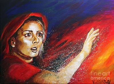 Painting - Pillar Of Salt by Veronica McDonald