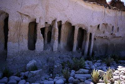 Photograph - Pillars And Caves, Crowley Lake by Michael Courtney