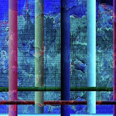 Colorful Art Digital Art - Pillars by Bonnie Bruno