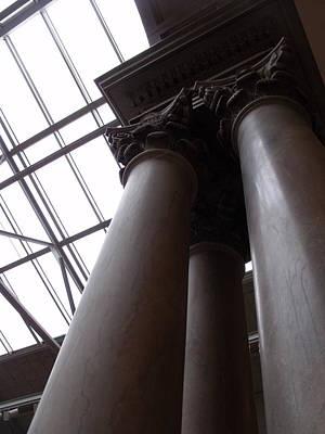 Photograph - Pillars I by Anna Villarreal Garbis