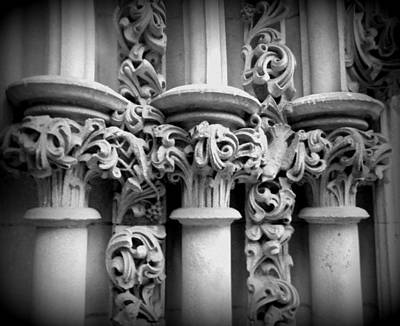 Pillars Art Print by Len-Stanley Yesh