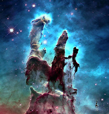 M 16 Photograph - Pillars Of Creation by Daniel Hagerman