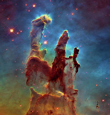 Photograph - Pillars Of Creation by Ram Vasudev