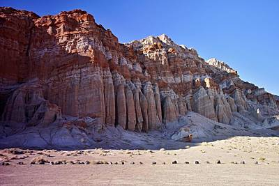 Photograph - Pillars, Red Rock Canyon State Park by Michael Courtney
