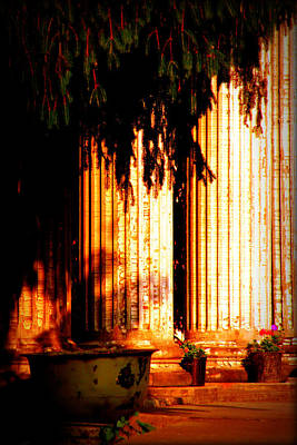 Photograph - Pillars by Susie Weaver