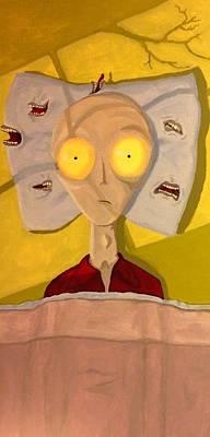 Pillow Talk Original by Joe Hansen