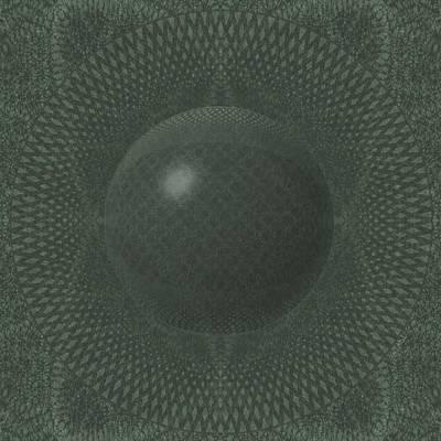 Digital Art - Pillow1-emerald by Vincent Autenrieb