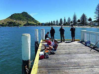 Photograph - Pilot Bay Beach 7 - Mt Maunganui Tauranga New Zealand by Selena Boron