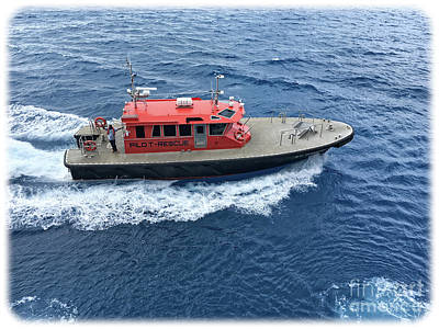Photograph - Pilot Boat In Bermuda by Luther Fine Art