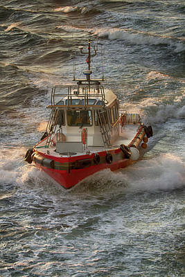 Photograph - Pilot Boat by John Haldane