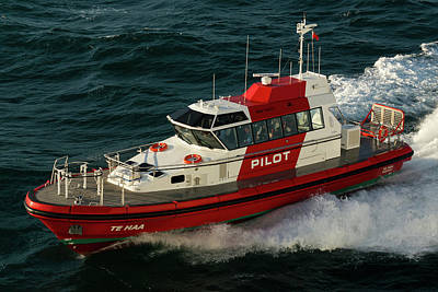 Photograph - Pilot Boat Wellington by John Daly