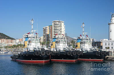 Photograph - Pilot Boats by Rod Jones