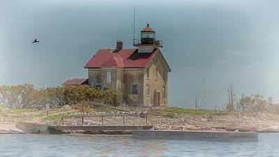 Photograph - Pilot Island Light by Susan Rissi Tregoning