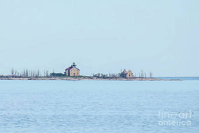 Nikki Vig Royalty-Free and Rights-Managed Images - Pilot Island Lighthouse by Nikki Vig